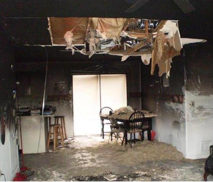 Fire Damage to Local Home Before