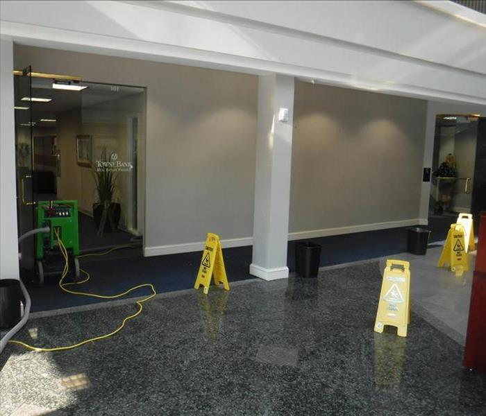 Local Bank Water Damage
