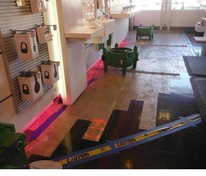Water Damage in Commercial Building | SERVPRO of Suffolk